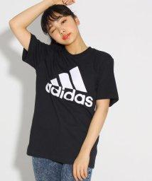 PINK-latte/adidas ロゴTシャツ/501817131