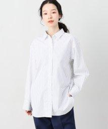 JOINT WORKS/サキゾメストライプオーバーシャツ/501817165