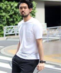 EDIFICE/シルケットテンジク クルーネック ポケット Tシャツ/501817176