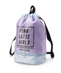 PINK-latte/プールバック巾着リュックサック/501828177