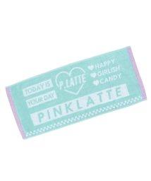 PINK-latte/ロゴ入りスポーツタオル/501828229