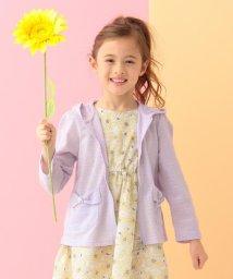 anyFAM(KIDS)/【KIDS】UVケア リボンポケット パーカー/501858830