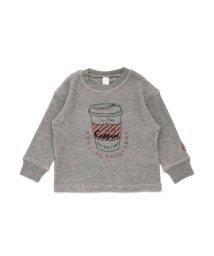 apres les cours/CAFE BREAK刺繍長袖Tシャツ/501475887