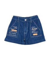 ALGY/チェックリストデニムショーパン/501588867