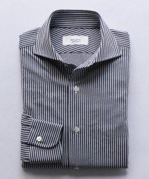NOLLEY'S goodman/ハイゲージカノコ ワイドカラーシャツ/501595050