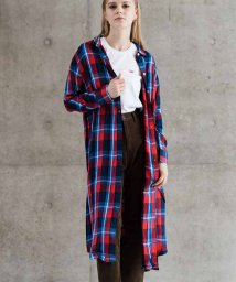 LEVI'S LADY/CECE SHIRT PRAIRIE DOG CHINESE RED PLAID/501622887