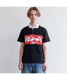 Levi's/L-TAB ラグビーポロシャツ LYCHEE/501627795