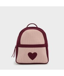 CHARLES & KEITH/キッズ ニット バックパック / KIDS KNITTED BACKPACK (Pink)/501679039