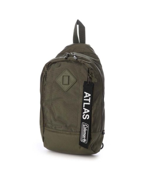 coleman(コールマン)/コールマン coleman トレッキング バッグ ATLAS SLING BAG (CACTUS GREEN) 2000032994/CO1916AU01864