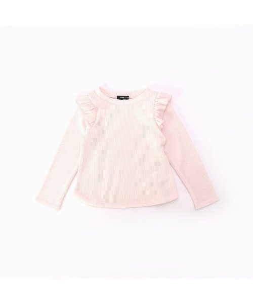 COMME CA ISM(コムサイズム)/コムサイズム COMME CA ISM ワッフルTシャツ (ピンク)/CO3909EC07990