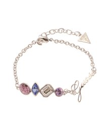 GUESS/ゲス GUESS B-4 COLOR CRYSTAL BRACELET (SILVER)/501726860