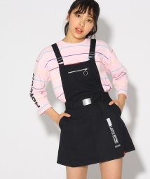 PINK-latte/★ニコラ掲載★ベルト付ジャンパースカート/501858824