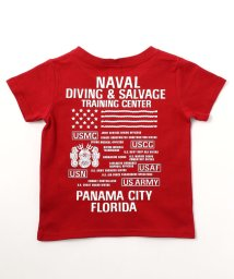 AVIREX/キッズ/刺繍クルーネックTシャツ/KIDS T-SHIRT DIVING & SALVAGE/501877408