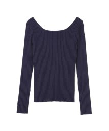 PROPORTION BODY DRESSING/《BLANCHIC》2Wayワイドリブニット/501877576