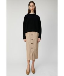 moussy/FRONT BUTTON NARROW スカート/501877653