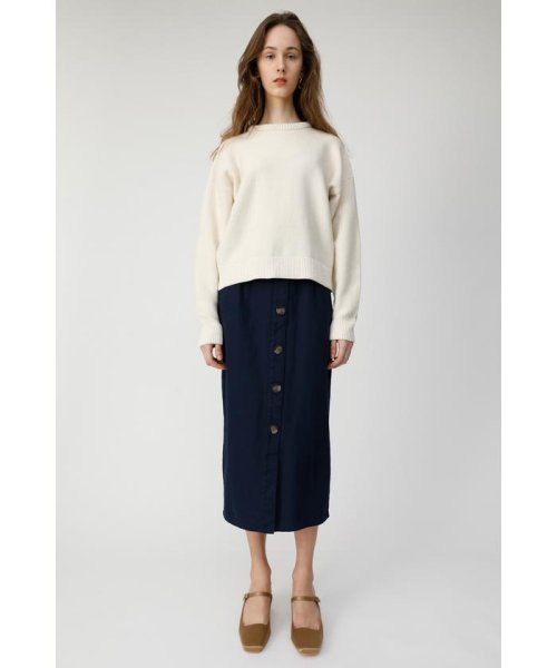 moussy(マウジー)/FRONT BUTTON NARROW スカート/010CSW30-1410