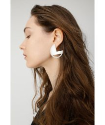 moussy/CIRCLE CONTRAST EARRINGS/501877656