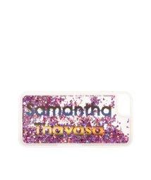 Samantha Thavasa/メタリックiphon6.7.8ケース/501877700