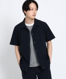 THE SHOP TK/スナップ釦半袖シャツ/501877885