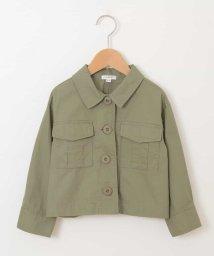 a.v.v(KID'S)/[100-130]ミリタリーシャツジャケット[WEB限定サイズ]/501539063