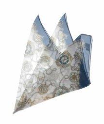 eur3/【大きいサイズ】マリンプリントスカーフ/501563361