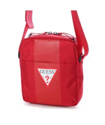 GUESS/ゲス GUESS CENTRAL MINI CROSSBODY (RED)/501725829
