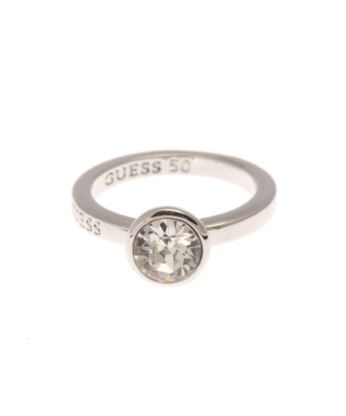 GUESS(ゲス)/ゲス GUESS R-CLEAR CRYSTAL RING (SILVER-50)/GU1432DW10814