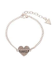 GUESS/ゲス GUESS B-SPARKLE HEART BRACELET (SILVER)/501726893