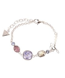 GUESS/ゲス GUESS B-5 COLOR CRYSTAL BRACELET (SILVER)/501726922