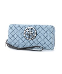GUESS/ゲス GUESS G-LUX LARGE ZIP AROUND WALLET (DENIM)/501727084