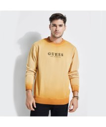 GUESS/ゲス GUESS GUESS Originals ROY CREW SWEAT (CIDER SPICE MULTI)/501727974