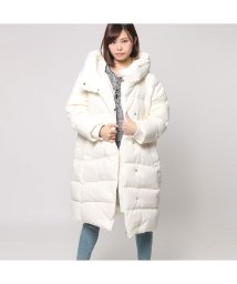 GUESS/ゲス GUESS LONG LIGHT GOOSE DOWN JACKET (IVORY)/501728820
