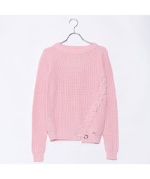 GUESS/ゲス GUESS ROUND-NECK VICKY SWEATER (BRIDAL ROSE)/501728862
