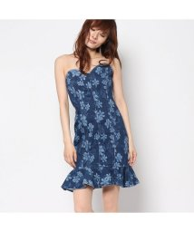 GUESS/ゲス GUESS WEDGEWOOD BUSTIER DRESS (WEDGEWOOD WASH)/501729063