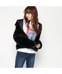 GUESS/ゲス GUESS TANYA JACKET (JET BLACK)/501729182