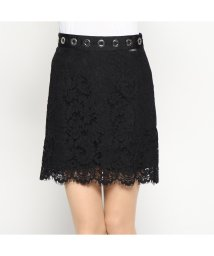GUESS/ゲス GUESS SILVIA SKIRT (JET BLACK)/501729338