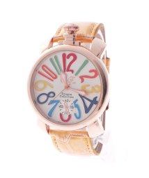 ITALICO/イタリコ ITALICO 【専用ケース付き】トップリューズ式ビッグフェイス腕時計 マルチカラー47mm (C(イエロー/ホワイト))/501740245