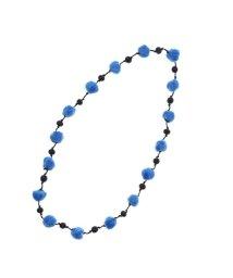 KANKAN/カンカン KANKAN フェルトポンポン1連ネックレス (ブルー)/501748995