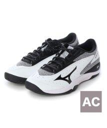 MIZUNO/ミズノ MIZUNO テニス オールコート用シューズ ウエーブフラッシュ WIDE AC 61GA193009/501770706