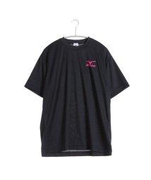 MIZUNO/ミズノ MIZUNO テニスTシャツ バックロゴTシャツ 62JA6Z0196 ブラック  (ブラック×ピンク)/501774361