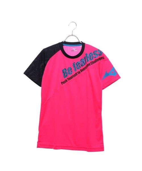 MIZUNO(ミズノ)/ミズノ MIZUNO バレーボール 半袖Tシャツ プラクティスシャツ V2MA858165/MI295EU08849