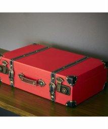 En Fance/トランク型収納ボックス L レッド/501522247