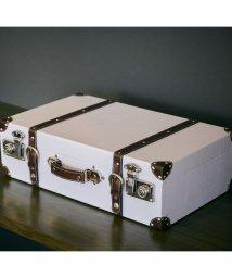 En Fance/トランク型収納ボックス L ホワイト/501522250