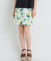 LANVIN en Bleu/【セットアップ対応商品】シャーベットフラワースカート/501541936