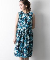 URBAN RESEARCH/【UR】花柄プリントジャガードドレス/501601968