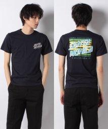 STYLEBLOCK/バックプリントサーフプリントクルーネック半袖Tシャツ/501616568