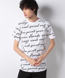 STYLEBLOCK/レタープリントビックシルエット半袖Tシャツ/501616572
