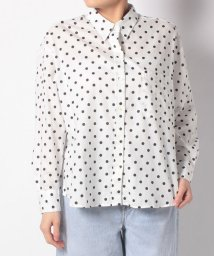 LEVI'S LADY/DARCY SHIRT SPACED DOT CLOUD DANCER PRIN/501622888