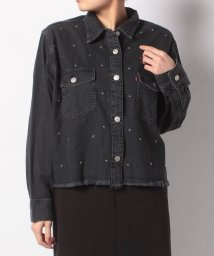 LEVI'S LADY/LS ADDISON SHIRT NO YOKE DANGER BLACK/501622904