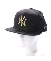 NEW ERA/ニューエラ NEW ERA キャップ ニューエラ NEW ERA キャップ 59FIFTY ブラック 11308572 帽子/501786361